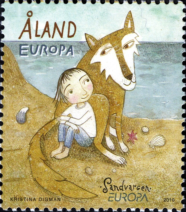 Аланды, почта, марка