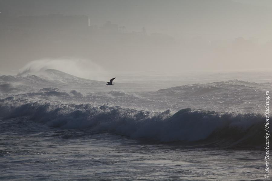 Атлантический океан, Канары, волны