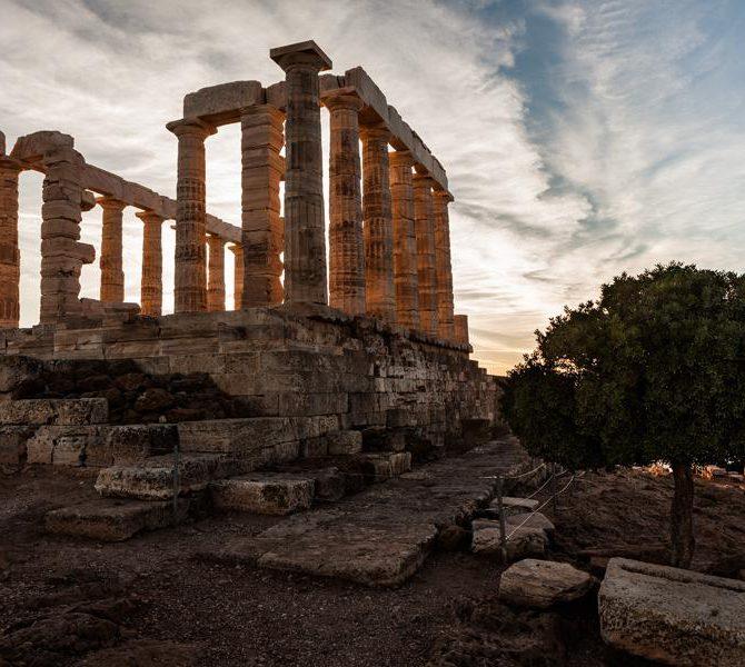 Мыс Сунион и храм Посейдона