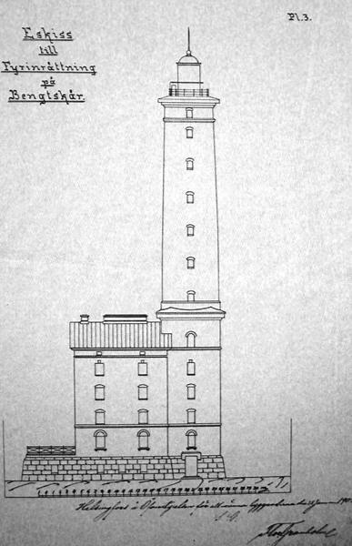 План маяка Бенгштер