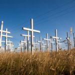 Кресты у дороги. Исландский мемориал