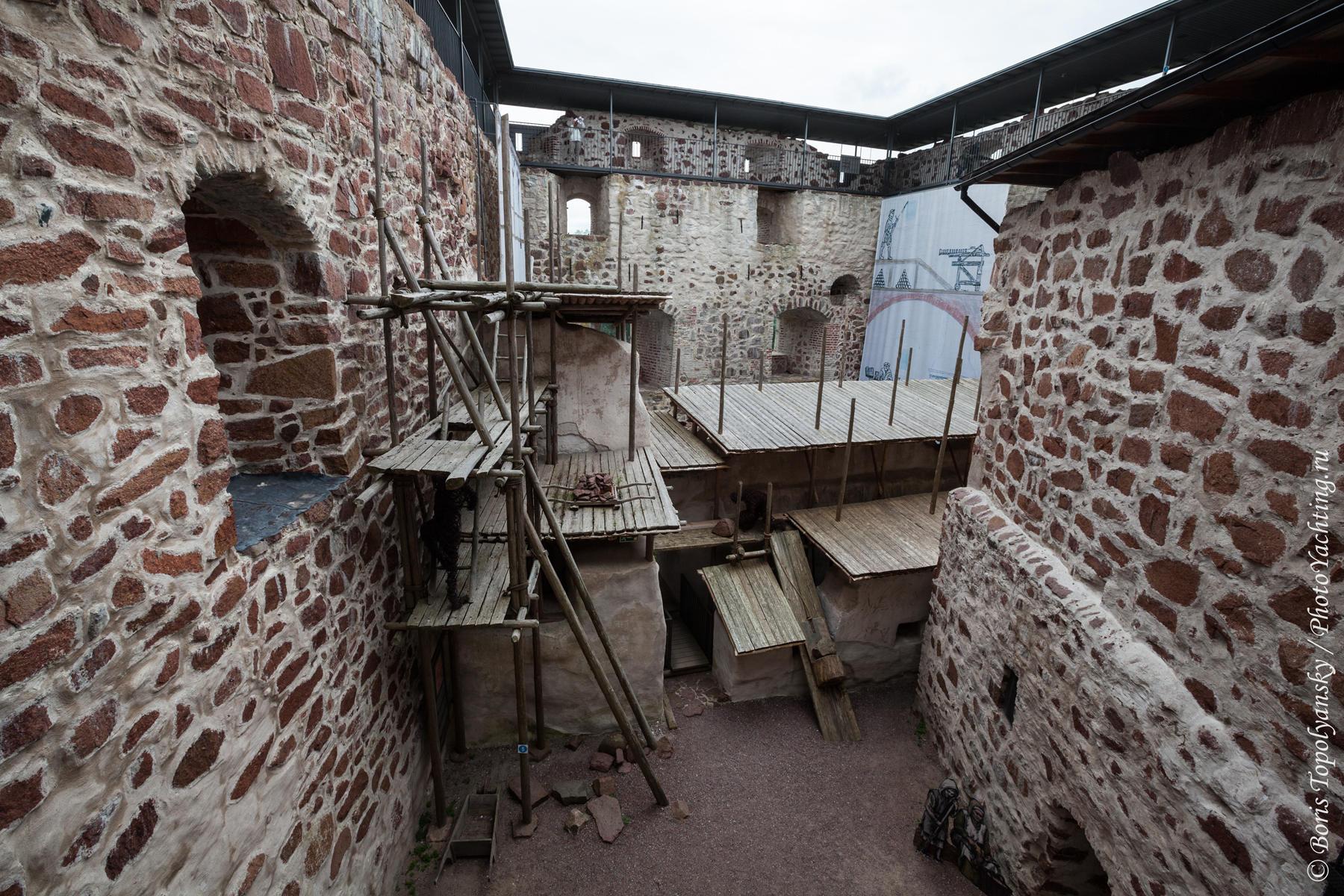 Замок Кастельхольм. Kastelholm