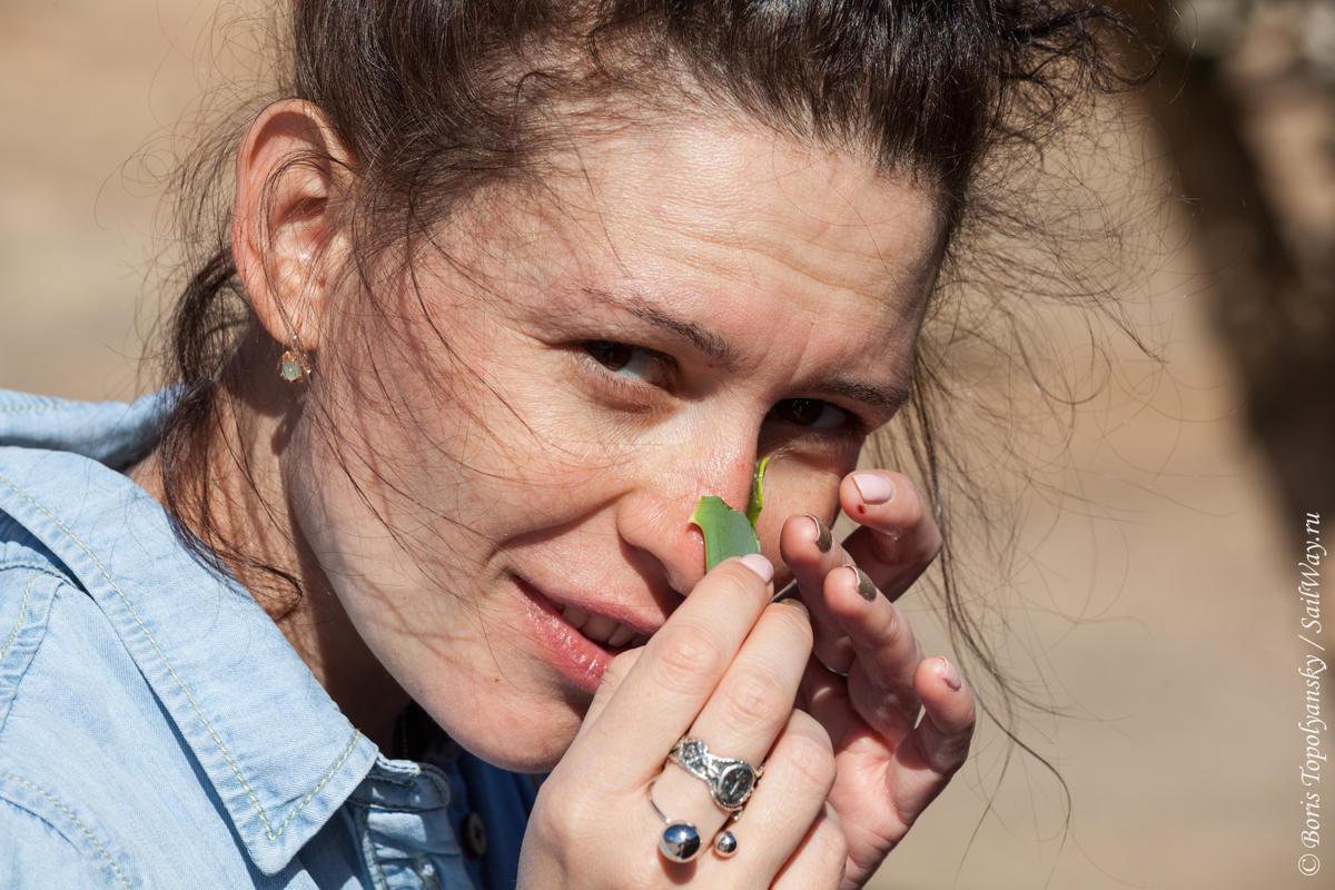 Мария Панова и ее нос