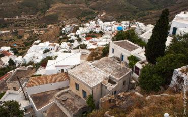 Хора на острове Серифос. Кикладский архипелаг.