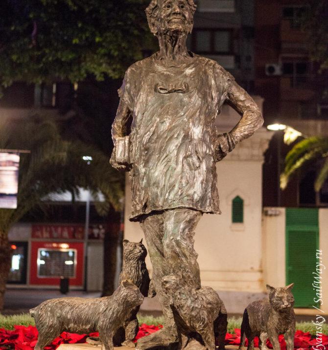 Лолита Плюма из Лас Пальмаса. Памятник и человек.