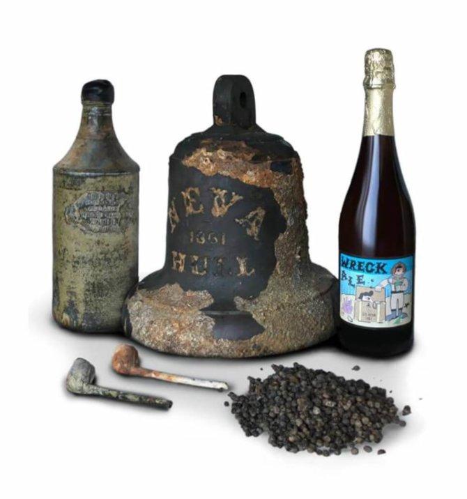 Пиво из дрожжей 1861 года
